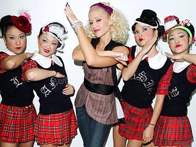 Gwen's Harajuku girls